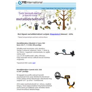 Metallidetektorite kevadkampaania!