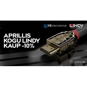 Aprillis kogu Lindy kaup -10%