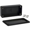 ABS-PLASTIC.100x50x21mm BLACK