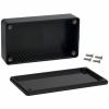 ABS-PLASTIC.112x62x27mm BLACK