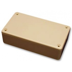 ABS-PLASTIC.191x110x57mm BEIGE