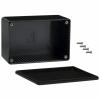 ABS-PLASTIC.120x80x55mm BLACK