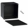 ABS-PLASTIC.120x120x90mm BLACK