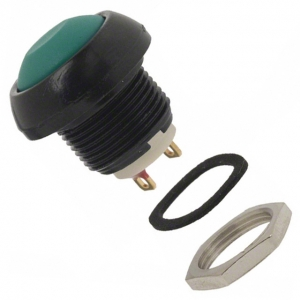 SEALED MOMENTARY PUSHBUTTON GREEN