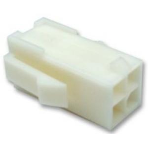 Mini Mate-N-Lok pesa 4-kont kaablile ja paneelile 4,14mm