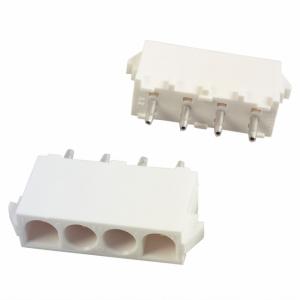 Mate-N-Lok Universal 4-ne PCB pistik, otse 6,35mm samm