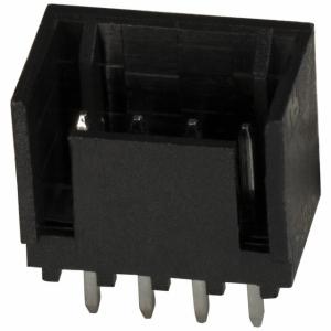 MTA100 pistik 4-ne PCB otse 2,54mm valge