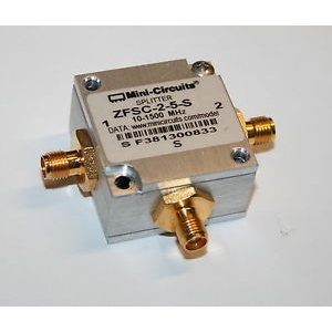 Power Splitter/Combiner 2way-0, 10-1500MHz SMA