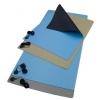 ESD lauamatt 60x120cm, 2 10mm trukki + maandusjuhe, sinine