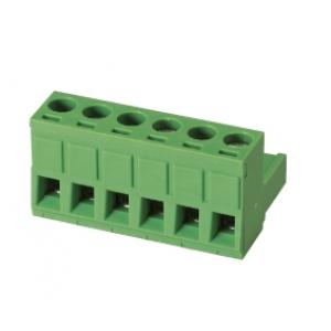 Terminal block R5mm, 6-ne, nurgaga, 0.05-3.00mm juhtmele