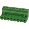 Terminal block R5mm, 8-ne, nurgaga, 0.05-3.00mm juhtmele