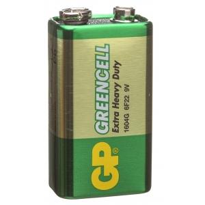 Patarei 9V 6LF22 tsink-kloriid GP1604G