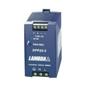 Toiteplokk DIN-latile 5VDC 5A 25W 85-264VAC 45*75*91mm