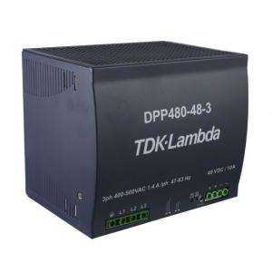 Toiteplokk DIN-latile 48VDC 10A 3faasi 480W 340-575VAC