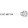 58748734 Knob WS