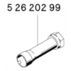 Kinnitushülss LR-82 kolvile