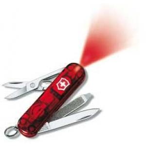 Victorinox SwissLite nuga, läbipaistev 58mm, 7osa, led`iga
