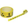 ESD hoiatusteip põrandale 50mm x 33m, PVC, kollane