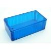 Plastkarp 120x65x36mm, Ice Blue, IP54 polükarbon.