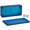 Plastkarp 100x50x21mm, Ice Blue, IP54 polükarbon.