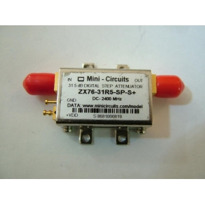 Digital Step Attenuator SMA F DC-2400 MHz