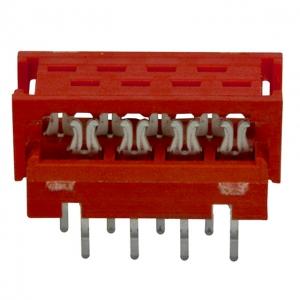 Micro-Match 8-ne lihtkaablipistik PCB otse