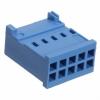 HE14 10way 2row crimp socket shell 281839-5