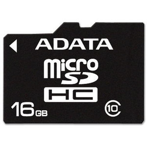 ADATA 16Gb microSDHC Card Class 10