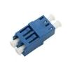 FO adapter singlemode LC quad / SC avasse sinine