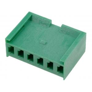AMPMODU I 3,96mm 1x6 emane kest kaablile, roheline