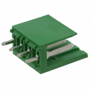 AMPMODU I 3,96mm 4-ne pistik plaadile, roheline, joodetav