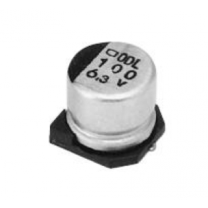 Elektrolüüt kondensaator 1000uF 6.3V 105°C 10x10mm SMD