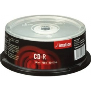 IMATION 25x CDR 700MB 80Min 52x CB