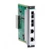Moodul EDS-600 seeria switchidele: 2 x 10/100BaseT(X), 2 x 100BaseFX multi-mode (SC), -40 kuni 75˚C