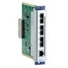 Moodul EDS-600 seeria switchidele: 1 x 10/100BaseT(X), 3 x 100BaseFX multi-mode (SC), -40 kuni 75˚C