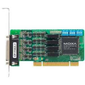 RS-232/422/485 PCI kaart, Low Profile, 4 porti + DB9M kaabel