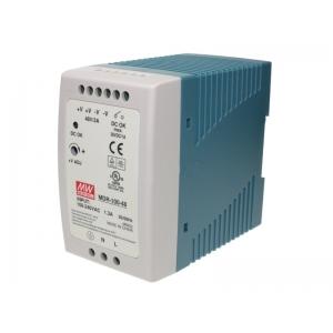 Toiteplokk DIN-liistule 100W 48V 2A