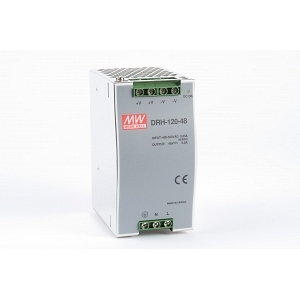 Toiteplokk DIN-liistule 1 faasiga 120W 48V