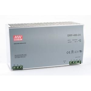 Toiteplokk DIN-liistule 3 faasiga 480W 24V