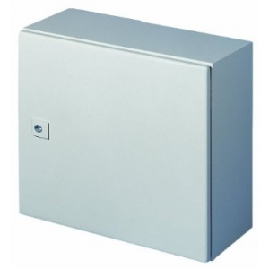 Seinakapp AE 380x380x210; IP66 metalluks, k,l,s