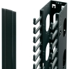 Kaablihoidja vertikaalne 42U for H2200 RAL9005 10tk/pakk