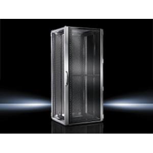 Seadmekapp TS IT T1 RAL7035 WHD 800x1200x1000 24U perforeeritud uksed