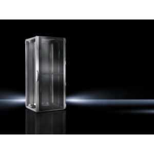 Seadmekapp TS-IT T1 RAL7035 WHD 600x2200x1200 47U perforeeritud uksed