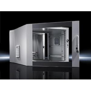 Seinakapp EL 3-osaline 478x600x573mm k,l,s 9U klaasuks