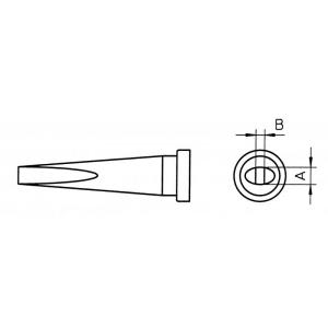LT L SOLDERING TIP 2.0mm (BULK 100 PCS)
