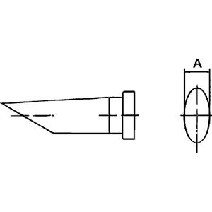 LT BB 45° SOLDERING TIP 2.4 MM