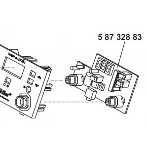 CIRCUIT BOARD CONTROL WSF 81D