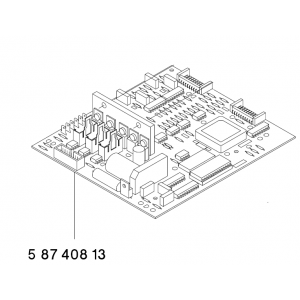 CIRCUIT BOARD WMD3SMD 58740813