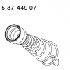 FUNNEL SPRING FOR FUNNEL WSP 80