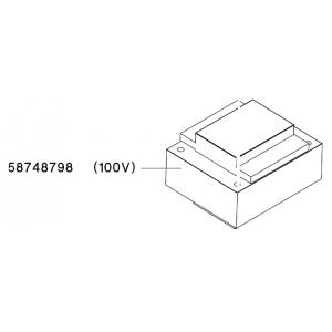 TRANSFORMER 100/120/240/12/24V 80VA